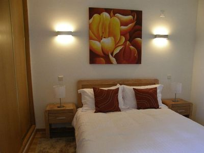 Acoteias villa rental - Master bedroom with fitted wardrobes