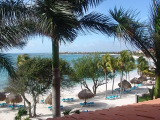 Puerto Aventuras condo photo - Paradise as seen from our balcony