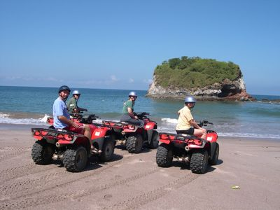 ATV tours provide gorgeous views from the mountains.