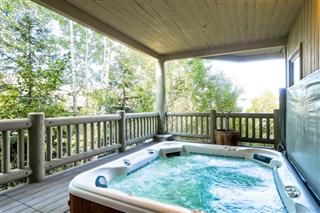 Old Town house photo - Hot Tub- enjoy the best view of Park City from you private hot tub
