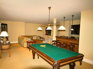 Siasconset house photo - Lower level bar and gaming area