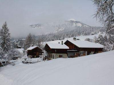 Summer, winter, holidays in the middle of nature and close to big ski resort