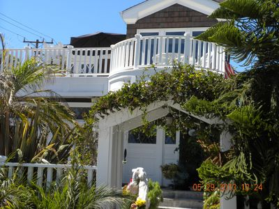 WALK STREET VIEW OF Z BEACH HOUSE