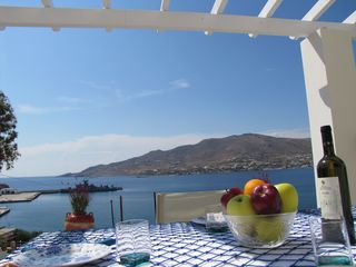 Syros apartment photo - Seaside Dining