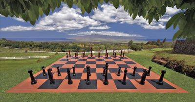 Huge Outdoor Chess Board