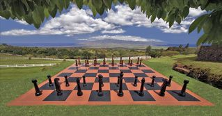 Kula estate photo - Huge Outdoor Chess Board