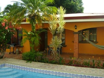 Casa Rexa has a private yard and swimming pool.
