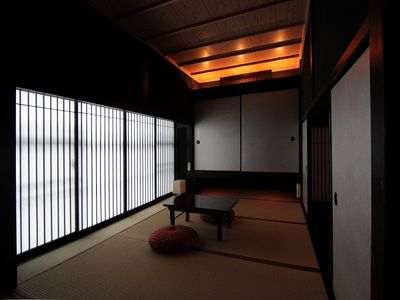 Kyoto townhome rental - The Japanese tatami room. Two sets of futon mattress to be prepared in this room