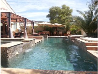 Las Vegas house photo - 40 feet Lap pool with 2 day beds and Privacy.
