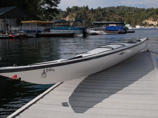 18' Eddyline Falcon kayak - Lake Arrowhead house vacation rental photo