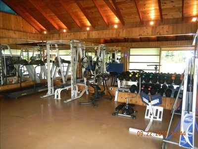Fully equipped Gym room and Sauna