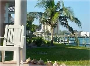 Grand Bahama Island condo rental - Relaxing Lanai View of Water