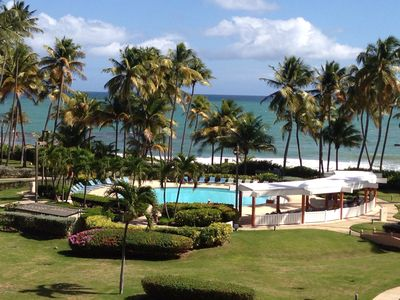 Humacao villa rental - Crescent Cove Pool