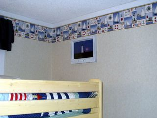 Myrtle Beach Resort condo photo - Kids Bedroom- Full with a Twin over bunk