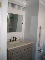 Ocean Springs cottage photo - Lagniappe Cottage's vanity area.