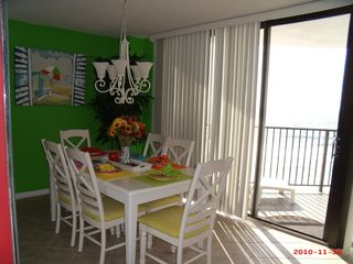 West Panama City Beach condo photo - Dining Room