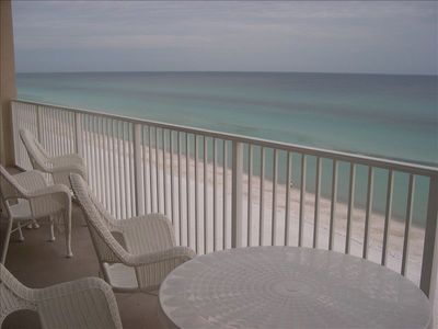 Grandview East condo rental - View of ocean from balcony