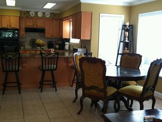 Greensboro house photo - Remodeled kitchen and eating area are open and airy!