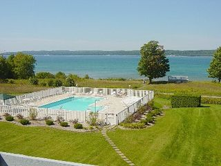 Petoskey condo photo - View from living room balcony