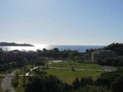 New 110m2 flat in a villa with a very beautiful view