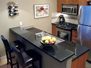 Victoria condo photo - Full Kitchen With Stainless Steel Appliances