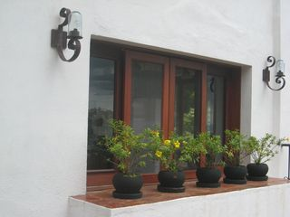 One of many kitchen windows. - Puerto Vallarta house vacation rental photo
