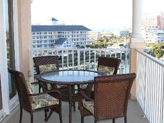 Clearwater Beach condo photo - Balcony Furniture / From Master Bedroom and Living Room. Magnificent Views !!!.