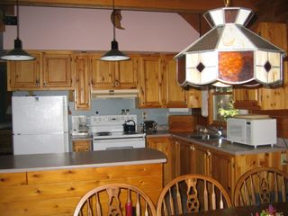 Jay Peak cabin photo - Fully equiped kitchen