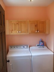 Otter Creek house photo - The Laundry room is on the first floor off the kitchen.