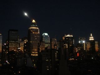 Midtown Manhattan apartment photo - Night view