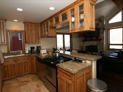 Kitchen with Refrig, Filtered Water, Range, Microwave, Dishwasher, Coffee Maker