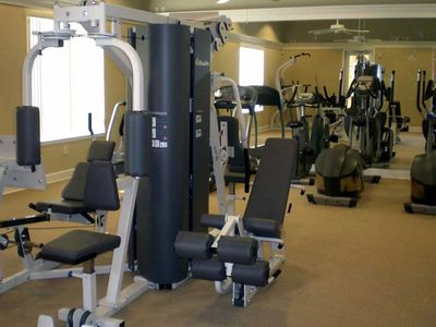 Lake Berkley villa rental - Clubhouse Gymnasium, free for all Villa guests