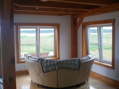 Cheticamp cottage rental - ocean /island view