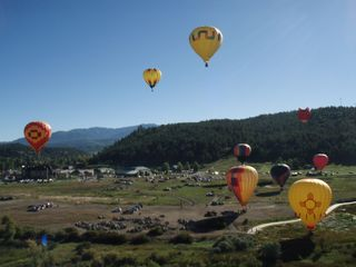 Pagosa Springs cabin photo - September's Balloon Festival
