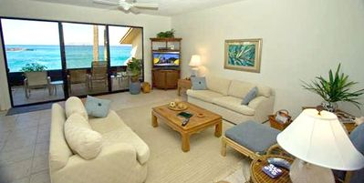 Makena Surf F202 Beautiful View From The Living Room