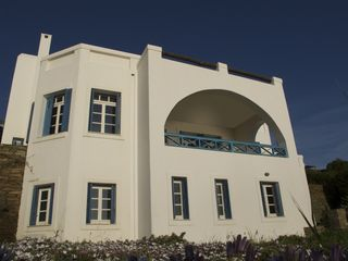 Andros villa photo - Front view of the house