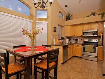 Gilbert house rental - Spacious Kitchen & Dining Area with Stainless Steel Appliances