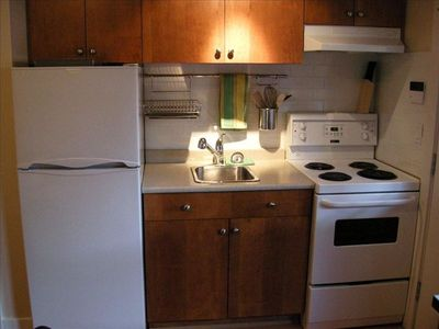 Our kitchen has all modern conveniences and appliances