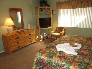 St. Augustine Beach condo photo - Master Bedroom with HDTV/DVR/DVD