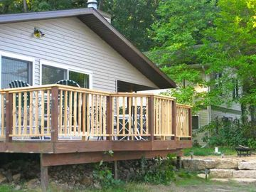 Lake Wisconsin house rental - Come visit us at the Lake House.