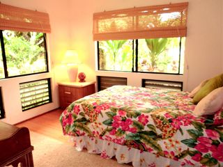 Wailua house photo - 3rd BR with Full Size Bed, TV and Internet access