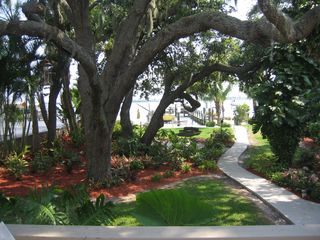 Englewood house photo - Tropical Gardens and walkway to bay