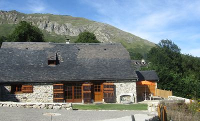 Barn character cottage mountain Val d'Azun Pyrenees