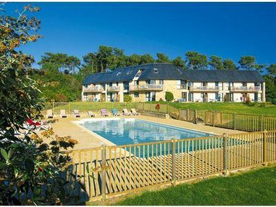 Apartment for 4 people, with swimming pool, in Finistère