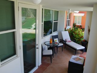 Aguadilla apartment photo - Enjoy your Balcony with direct Access to Pool!