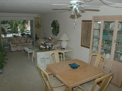 Living Room Viewed From Dining Area