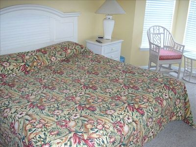 UPSTAIRS BEDROOM #1 WITH KING BED