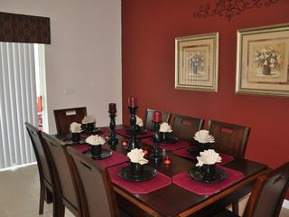 Oakwater townhome photo - Beautiful Dinning Room seating for 8 people