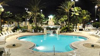 Regal Palms townhome photo - Pool Night
