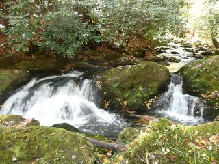 Gatlinburg cabin photo - Waterfall on property